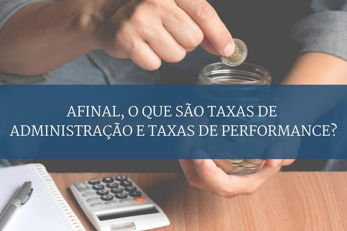 Taxas de Administração e taxas personalizadas